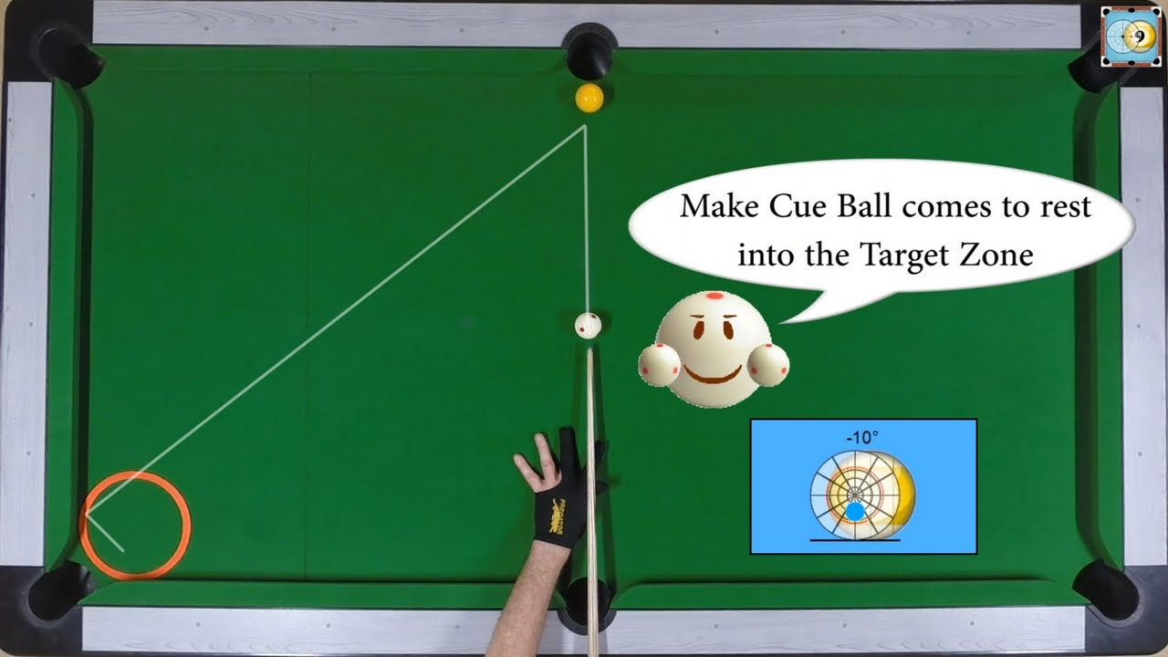 BlackBall Exercise #9 - Cue Ball Position Control with Key Ball - Pool &  Billiard Training Lesson