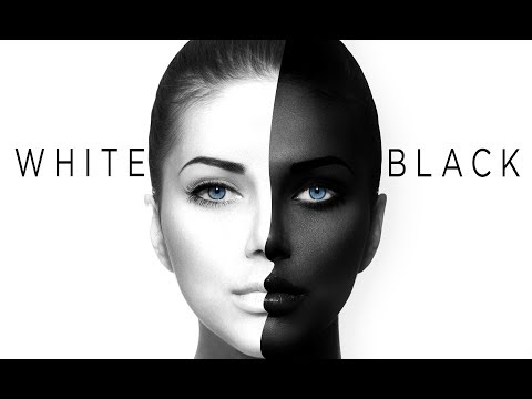 Black And White Skin Color In Photoshop [Tutorial]