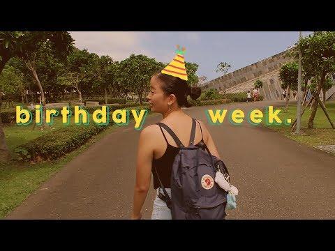 birthday week ~ vlog of a university student in taiwan