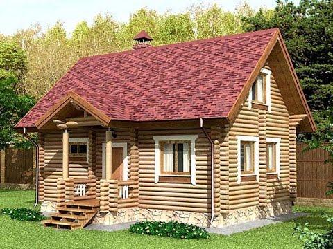Дома из бруса под ключ недорого Проекты домов из бруса