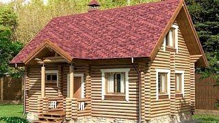 Проект дома из оцилиндрованного бревна ДСЭ 14(, 2015-12-27T15:05:22.000Z)