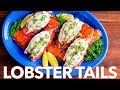 Broiled Lobster Tails + How To Butterfly Lobster Tails