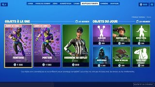 FORTNITE [ AMERICAN FOOTBALL SKIN / GUERRIÈRE AT THE WHISTLE / POM POM ] 06-09-2019