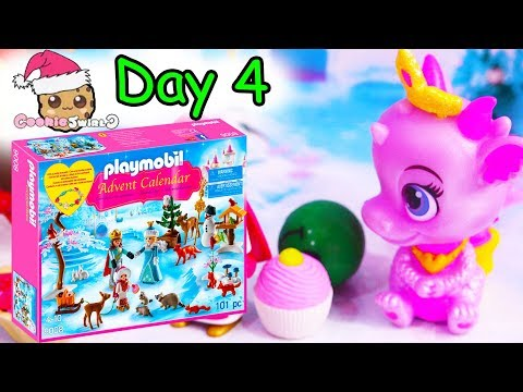 Playmobil Holiday Christmas Advent Calendar Day 4 Cookie Swirl C Toy Surprise Video