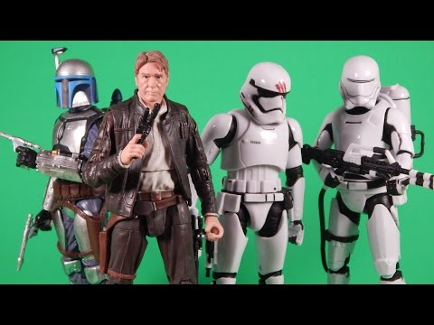 Star Wars The Force Awakens Black Series Wave 5 Action Figure Review