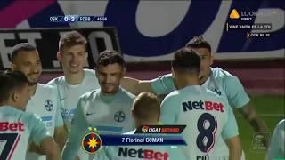 Rezumat Sepsi OSK - FCSB 1-5 Etapa 9 Play Off Sezon 2018-2019