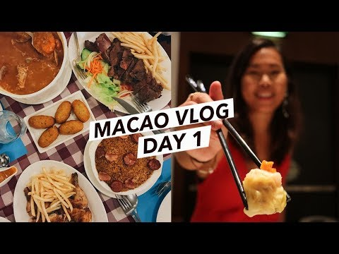 This Place is a FOODIE'S PARADISE | Macao/Macau Travel Vlog