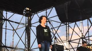 Чичерина подарила Донбассу свой рок-н-ролл