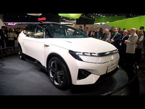 Byton Concept Electric SUV - CES 2018