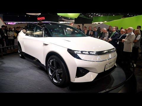 Byton Concept Electric SUV - CES 2018