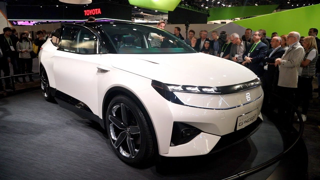 Byton Concept Electric Suv Ces 2018