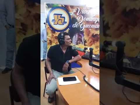 Compañero Ramón Rodríguez en la cabina de Tu Nueva Radio Ya