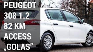 Peugeot 308 1.2 Access 82 KM - test Francuskie.pl