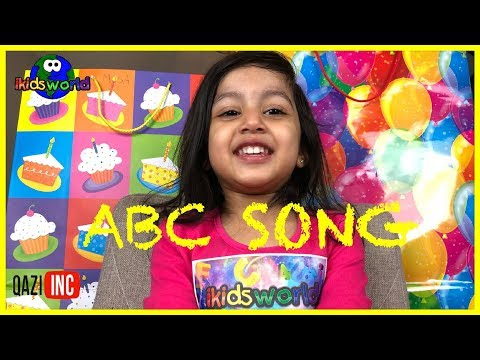 Learn the Alphabet Song with Baby A.