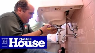 How to Fix a Bathroom Sink Stopper - This Old House