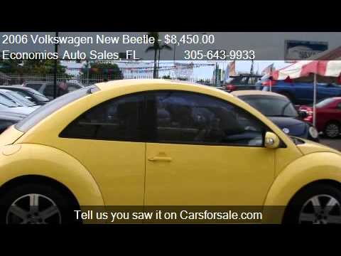 2006 Volkswagen New Beetle 2.5L - for sale in Miami, FL 3312