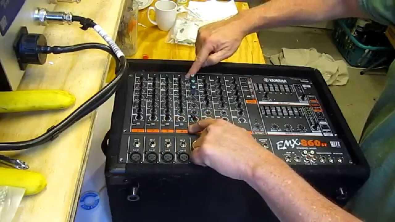 yamaha powered mixer repair emx860st youtube rh youtube com Yamaha Sound Systems Band Yamaha Sound Systems Band