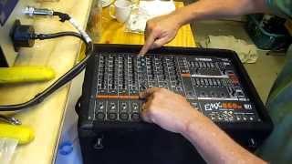 Yamaha powered mixer repair emx860st