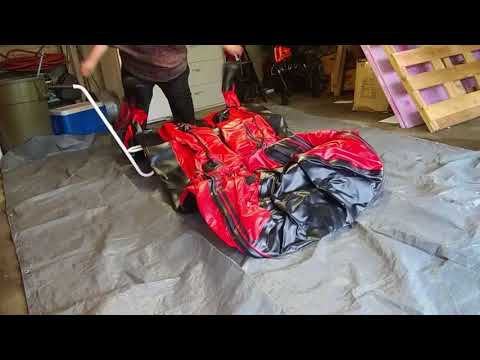 Unboxing A BRIS 12 Ft Inflatable Divers Boat