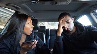 Girlfriend sexting Ebony