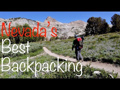 Backpacking / Nevada's Rubies/ Fly Fishing