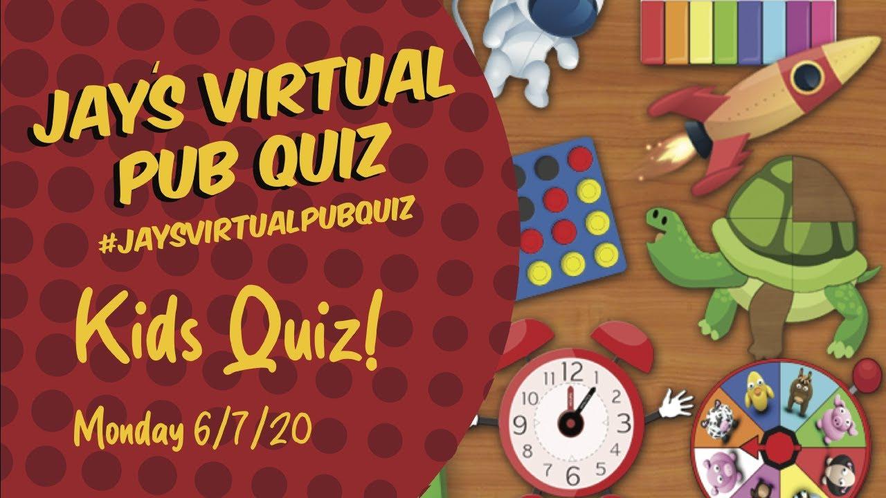Virtual Pub Quiz, Childrens Quiz Special