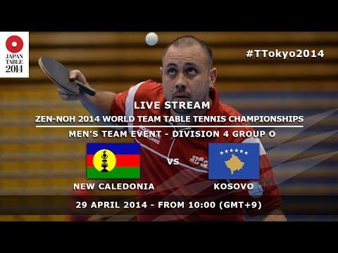 #TTokyo2014: New Caledonia - Kosovo