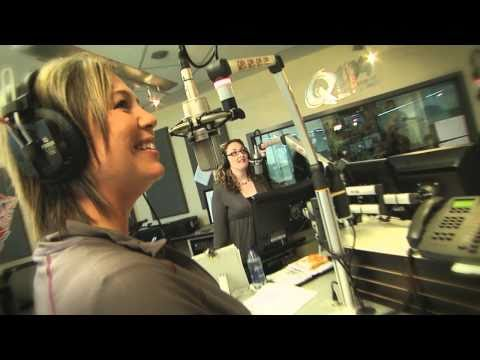 Q104 Halifax 'Q Morning Crew' - Erotica with Sexy Girl