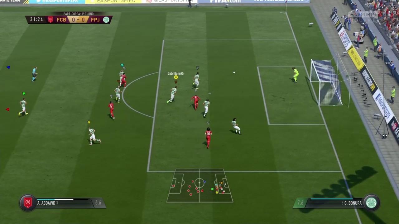 Defensive Skills Fifa 17 Pro Club - YouTube