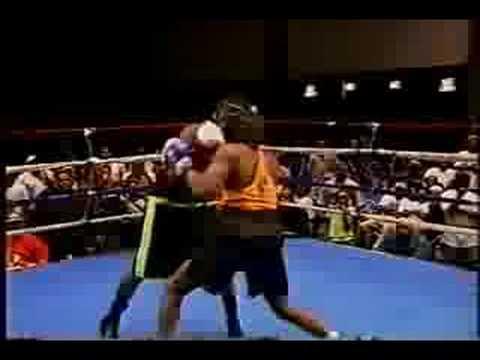 H.O.B.O. presents 2001 Platinum Gloves Harold Parker vs. Alan Lawrence