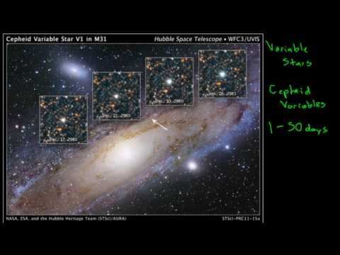 Cosmic Distance Ladder: Cepheid Variables