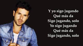 """PABLO LOPEZ """"EL PATIO"""" (LETRA)"""