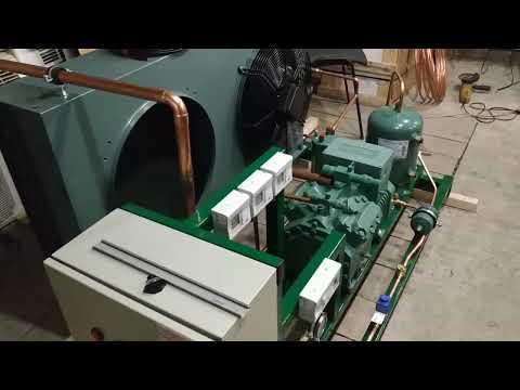 Сборка холодильного агрегата на базе компрессора BITZER.