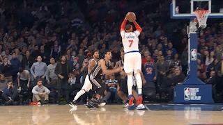 Carmelo Anthony 25 Points, 7 Rebounds Lifts Knicks to Victory l 02.12.17
