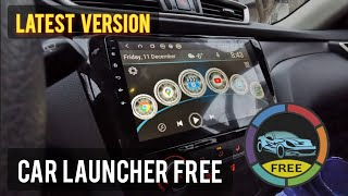 CAR LAUNCHER FREE | Latest Version Late 2020 for ANDROID HEAD UNIT screenshot 2