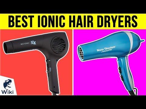 10 Best Ionic Hair Dryers 2019