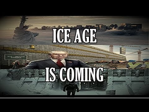 Donald Trump - The WALL (KEEPING US IN) MINI ICE AGE Norther