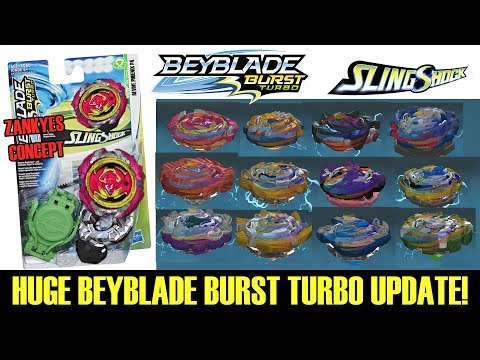 HERCULES H4! FULL BEYBLADE BURST TURBO UPDATE EXPLAINED! DRIVER SLINGSHOCK  HASBRO EXCLUSIVE NEW SST
