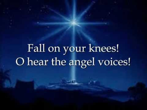O Holy Night - Martina McBride with Lyrics