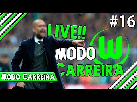 LIVE!! de Modo Carreira #16 - NEGOCIAÇÕES e PRÉ-TEMPORADA c/ Wolfsburg [FIFA 17]