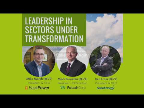 College of Engineering - usask: Leadership Panel 2017