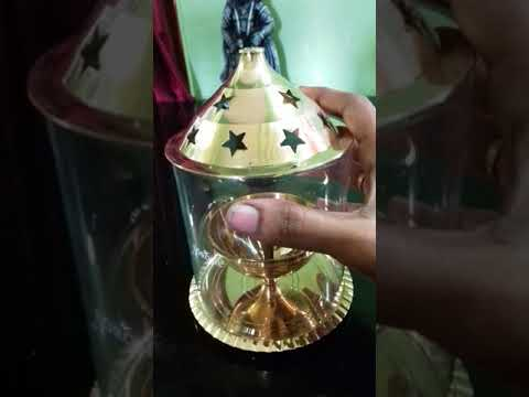 Amazon brass diya (brass deepaapu kundhi ) in telugu