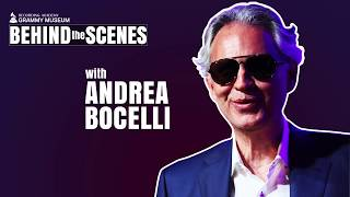 Andrea Bocelli & Son Matteo Bocelli With Producer Bob Ezrin Talk 'Si' & More | GRAMMY Museum