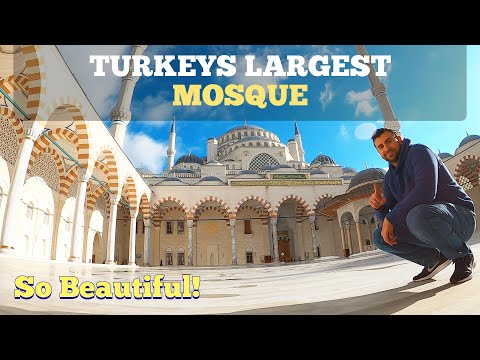 LARGEST Mosque In Turkey Çamlıca Mosque Istanbul