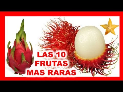 Download Las 10 Frutas mas Raras del Mundo