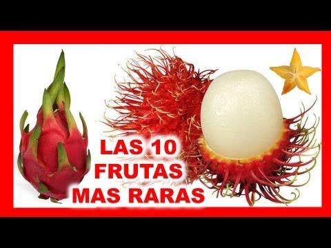Las 10 Frutas Mas Raras Del Mundo Youtube