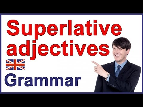Superlatives | English lesson