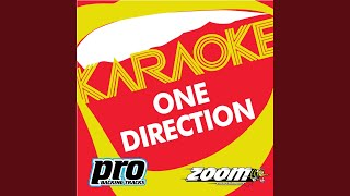 Last First Kiss (In the Style of One Direction) (Karaoke Version)
