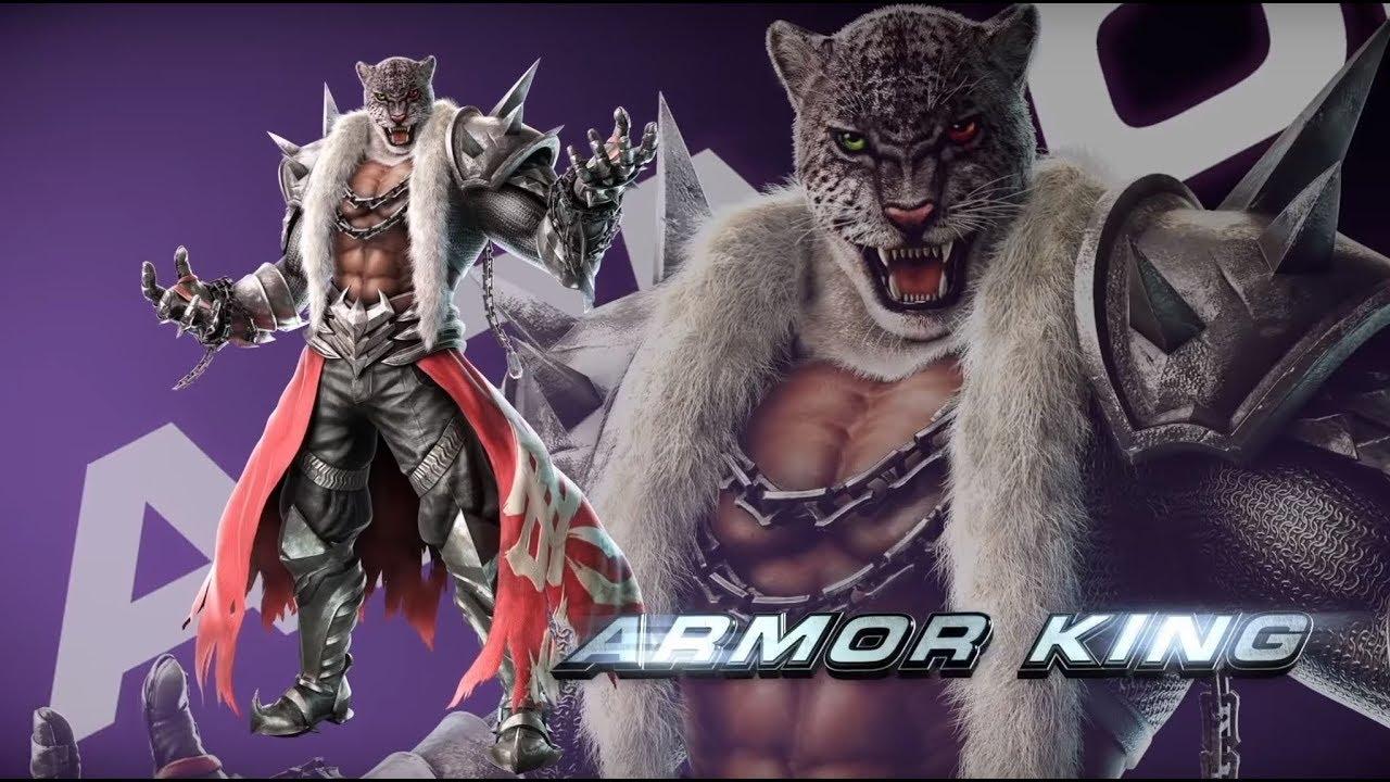 Armor King Move List Command List Tekken 7 Youtube