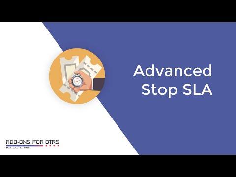 Add-ons for OTRS - Advanced Stop SLA